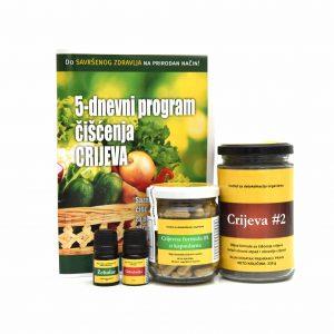 5 dnevni program čišćenja crijeva